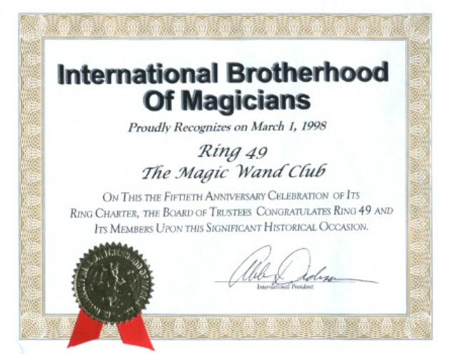 The Doug Henning Magic Wand Club 50th Anniversary